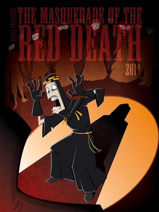 The Masquerade Of The Red Death 2014 Poster